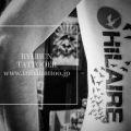 タトゥー東京 Ryubun tattooer ブラックワークタトゥー