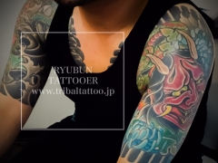 RYUBUN TATTOOER  タトゥー東京 和彫